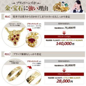 ブランドハンズが宝石買取に強い理由