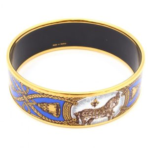 hermes-enamel-bangle