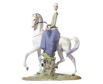 リヤドロのフィギュリン馬