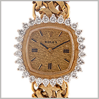 ダイヤベゼルのの時計