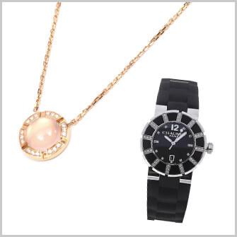 クラスワンの指輪やネックレス、時計