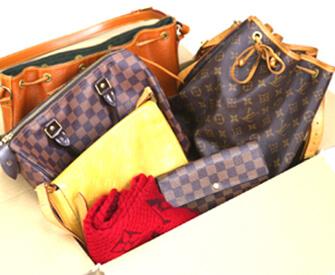 ルイヴィトンのバッグや靴、財布