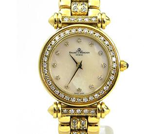 金無垢ダイヤモンド時計
