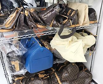 ルイヴィトンの中古バッグの法人買取