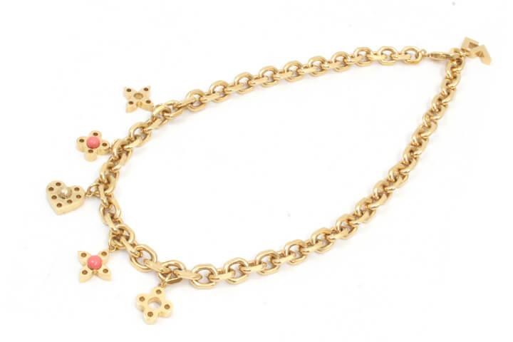 吹田店でルイヴィトンのネックレスを買取いたしました!!