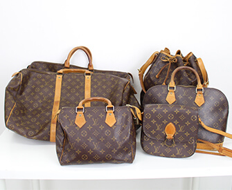 ルイヴィトンの古いバッグ