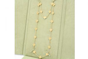 ヴァンクリーフ&アーペルのアルハンブラロングネックレスを買取致しました