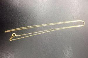 K18金イエローゴールドのネックレスをお買取【都島貴金属買取】