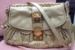 ミュウミュウ(MIUMIU)のマテラッセ2wayハンドバッグを買取|都島店