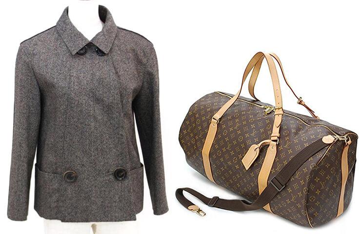 ルイヴィトンのバッグや洋服、その他ブランドバッグを多数出張買取!【中央区】