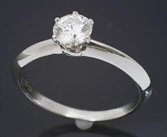 0.7ctダイヤモンドリング