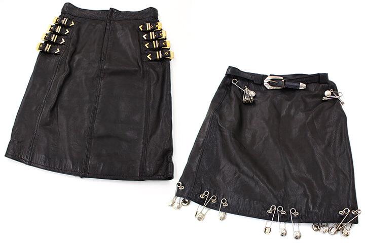 ヴェルサーチのスカート複数買取