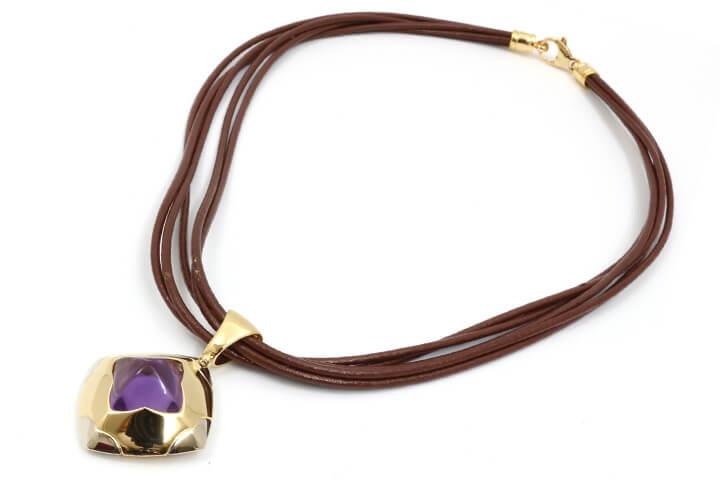 ブルガリのネックレスを買取