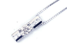 Pt900 D0.21ct ネックレス