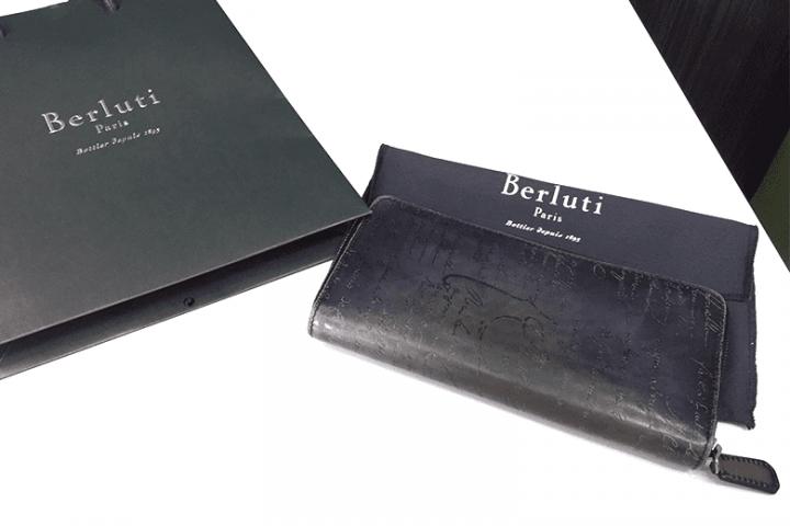 大阪府都島区|ベルルッティの財布イタウバを高価買取!