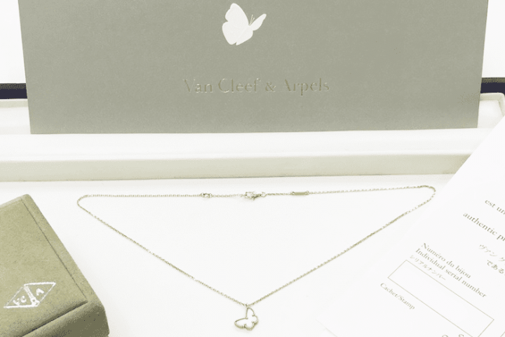 都島店にてK18ヴァンクリーフ&アーペルのネックレスを高価買取