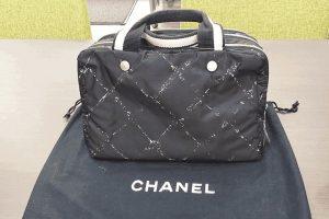 都島店にてシャネル旧トラベルラインミニボストンバッグを高価買取