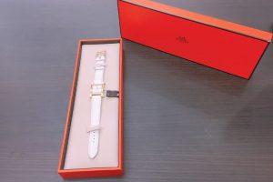 都島店にて中古のエルメスの腕時計Hウォッチを高価買取しました!