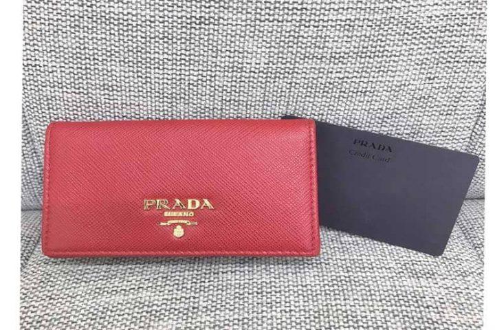 都島店にてプラダサフィアーノカードケースを高価買取しました!