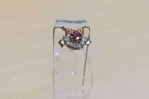 東大阪のお客様からK18ルビーダイヤネックレスを高価買取|梅田店
