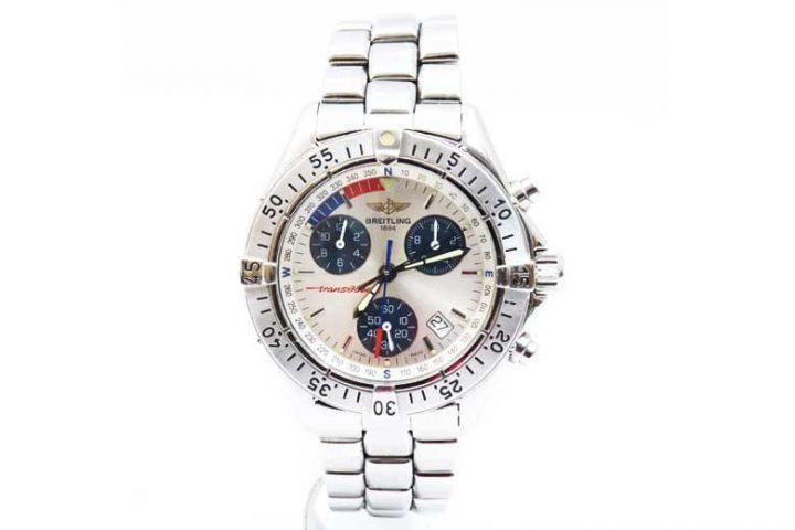 守口市のお客様よりブライトリングの時計トランスオーシャン高価買取