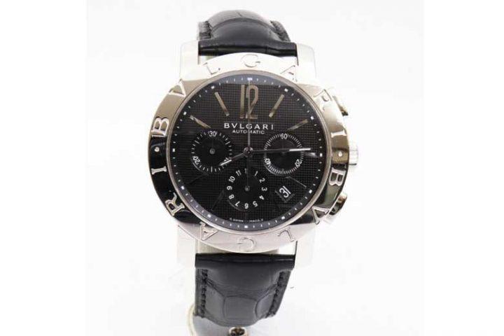 摂津市のお客様から腕時計ブルガリ・ブルガリのクロノを高価買取!