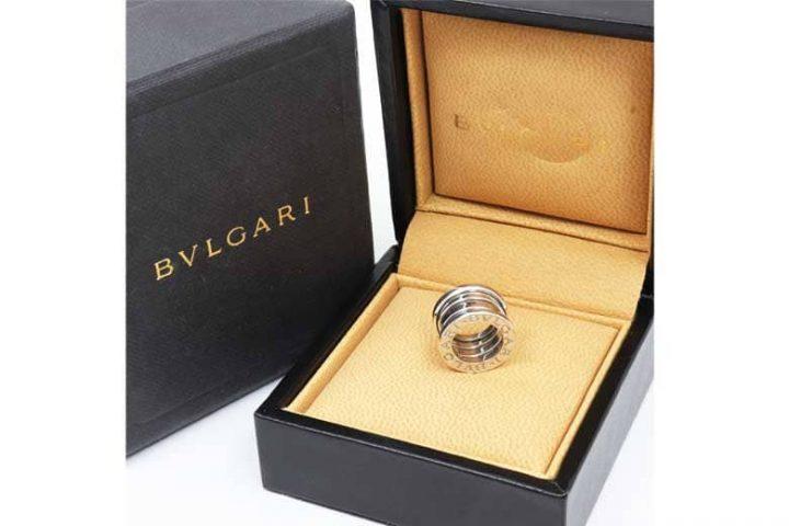 中津のお客様よりブルガリの指輪ビーゼロワン高価買取|梅田北新地店