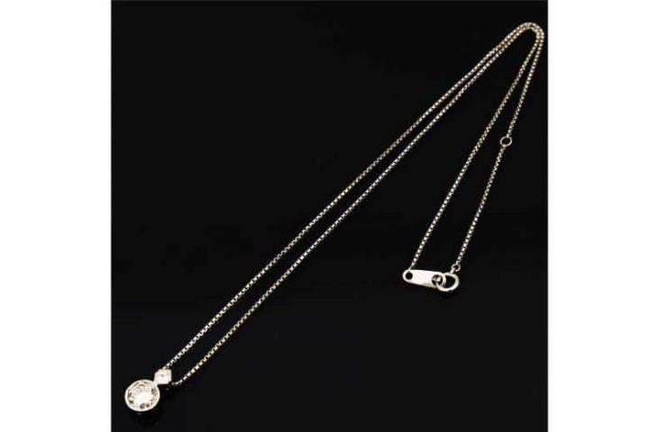 出張買取|寝屋川市のお客様|ダイヤモンド付きネックレスを高額査定