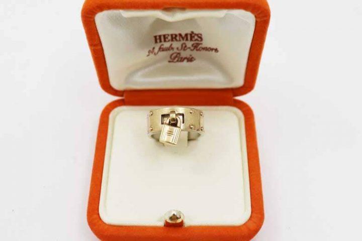 都島店にてエルメスの指輪・ケリーリングを高価買取しました!