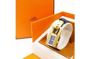 都島店にてエルメスの腕時計ケリーウォッチの美品を高価買取!