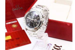 大阪府東大阪市のお客様からオメガの腕時計スピードマスターデイトを高価買取!