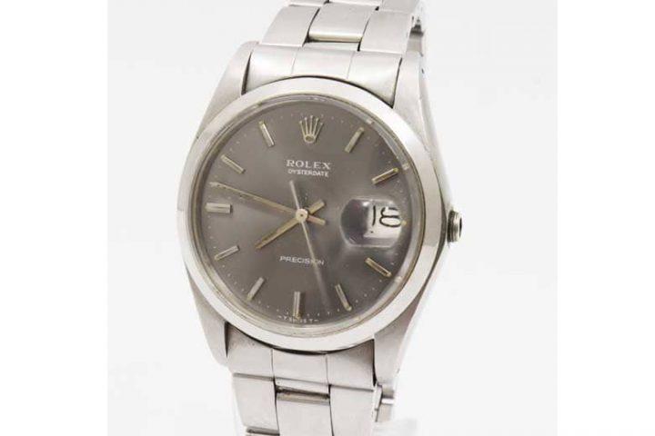 肥後橋のお客様よりロレックスの時計プレシジョンを高価買取!