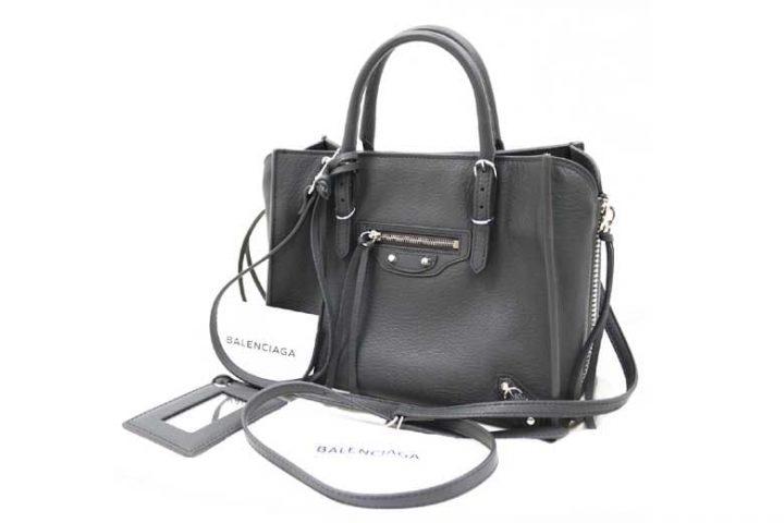 都島区中野町のお客様よりバレンシアガビジネスバッグを高価買取!