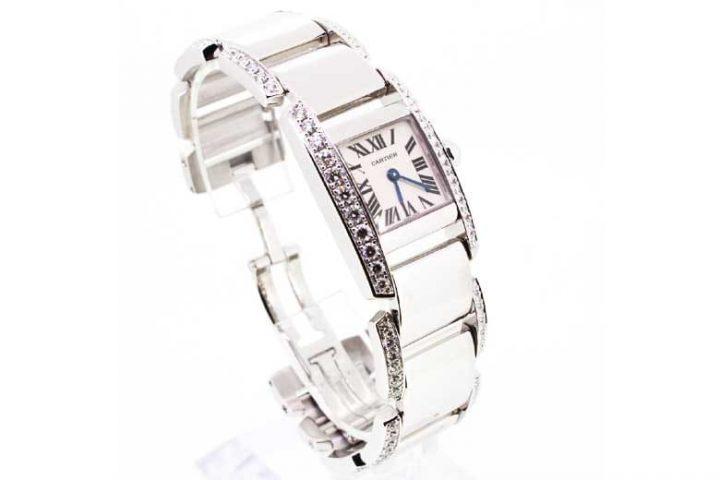 カルティエの時計タンクフランセーズを中津のお客様より高価買取