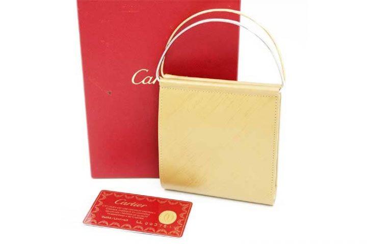 カルティエのトリニティバッグを高価買取|大阪のブランドハンズ