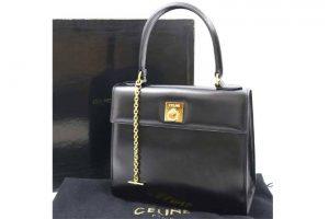 梅田北新地店にてセリーヌのレザーハンドバッグを高価買取しました