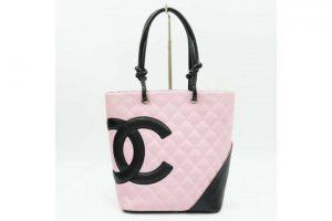 都島店にて城東区のお客様よりシャネルのカンボンラインハンドバッグ買取!