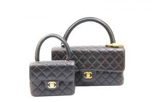 豊中市のお客様よりシャネルのマトラッセ親子バッグを高価買取!