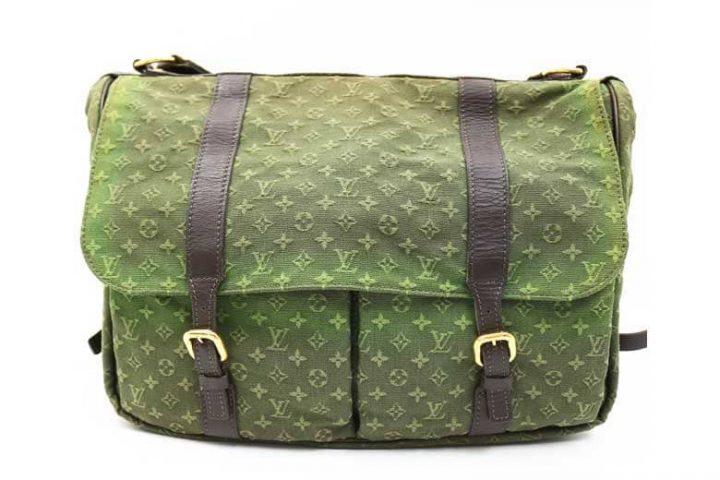 変色・色ムラのあるルイヴィトンのメッセンジャーバッグを高価買取