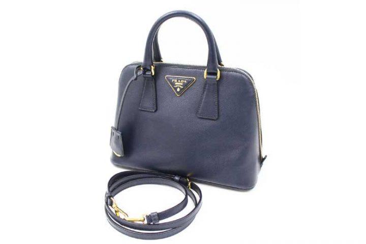 豊中市のお客様よりプラダのサファイアーノ2WAYバッグを高価買取