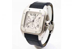 梅田北新地店にてカルティエの時計サントスを高価買取|阿波座のお客様