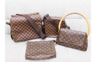 西宮市夙川のお客様よりルイヴィトンのバッグ4点を高価買取しました