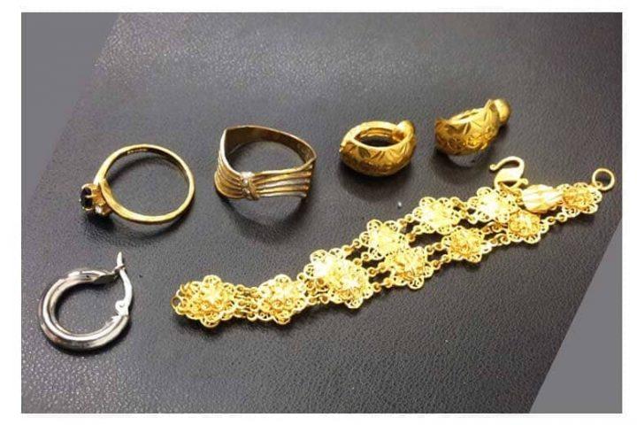指輪など金のアクセサリーをまとめて高価買取|大阪市堂島のお客様