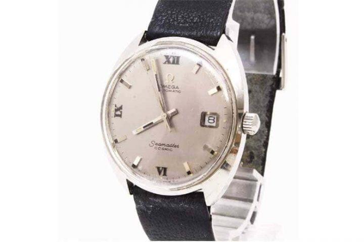 吹田江坂店にてオメガのアンティーク腕時計シーマスターを高価買取