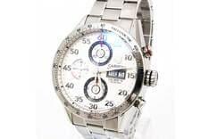 JR西宮ロレックスのタグホイヤーの時計カレラタキメーター買取