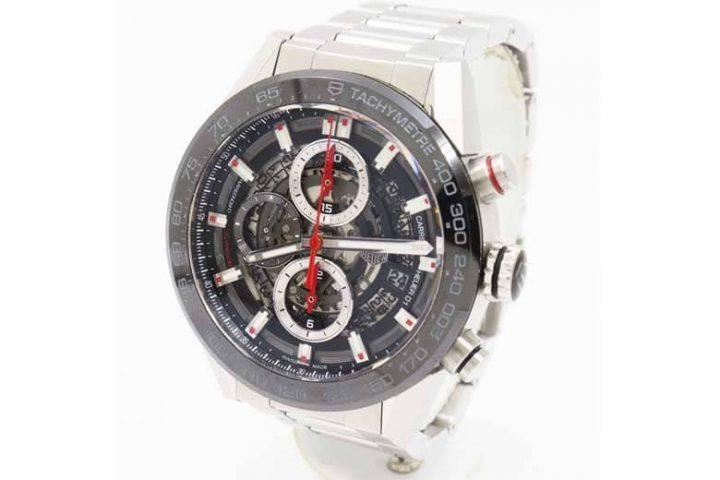 城東区関目のお客様よりタグホイヤーの時計カレラを高価買取|都島店