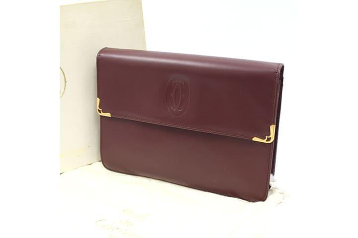 JR西宮店|超美品のカルティエマストラインの財布を高価買取