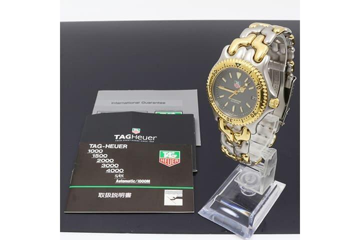 タグホイヤーの時計プロフェッショナルを高価買取|梅田北新地店