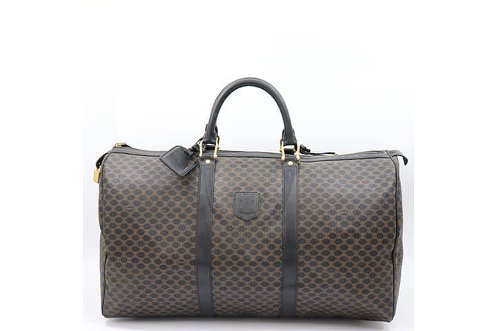 セリーヌのマカダム柄ヴィンテージボストンバッグを高価買取|都島店