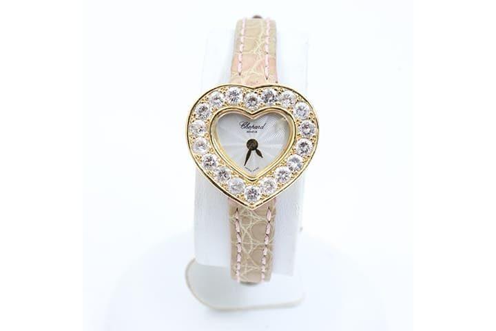 ショパールの時計クラシックハートダイヤモンドを高価買取|JR西宮店